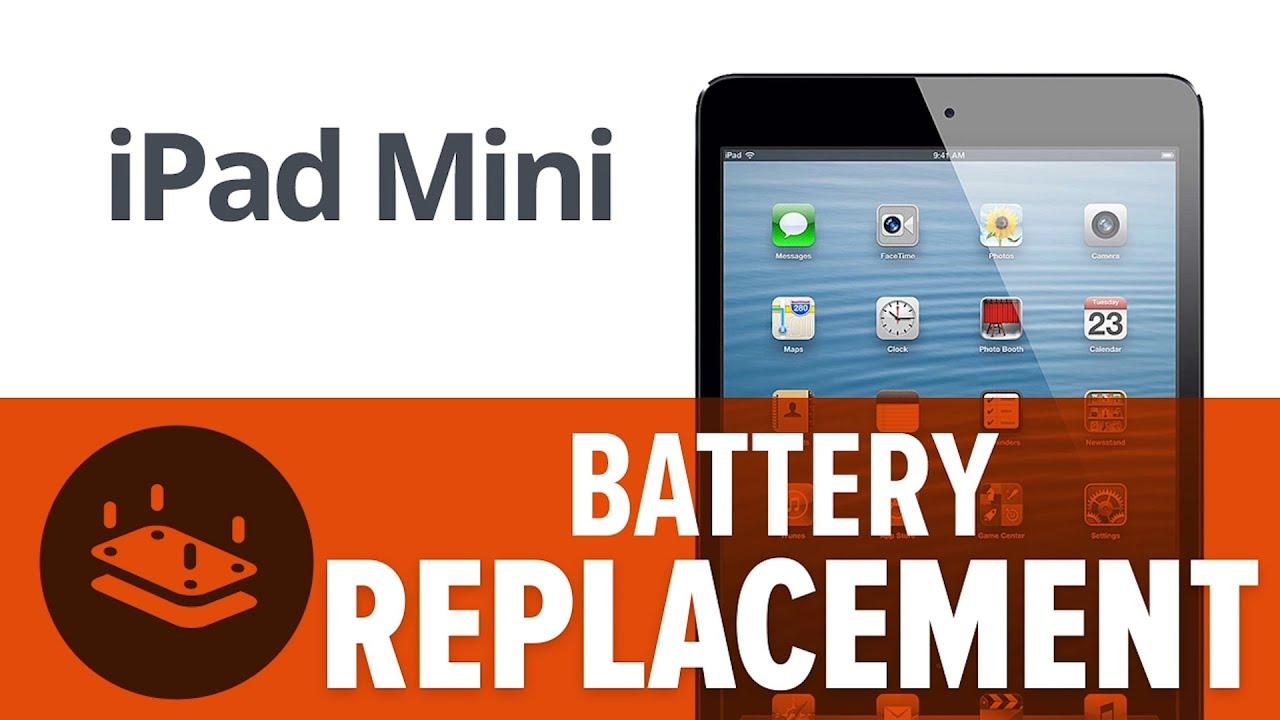 Ifixit ipad mini 2 battery replacement