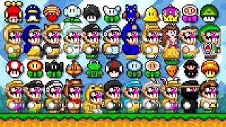 Super Mario World Deluxe - All New Power-Ups (Wario). ᴴᴰ