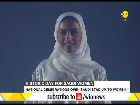 Big move by Saudi Arabia, national celebrations open stadium to women