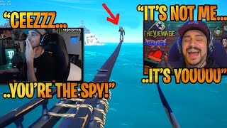 """Summit1G & CDNThe3rd Plays SEA OF THIEVES """" WHO IS THE SPYY?!"""" - Funny Gameplay SOT"""
