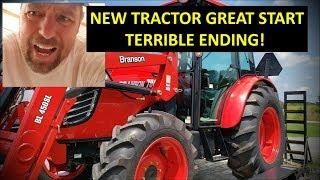 NEW TRACTOR FARM VLOG! GREAT START, TERRIBLE ENDING on Illinois homestead