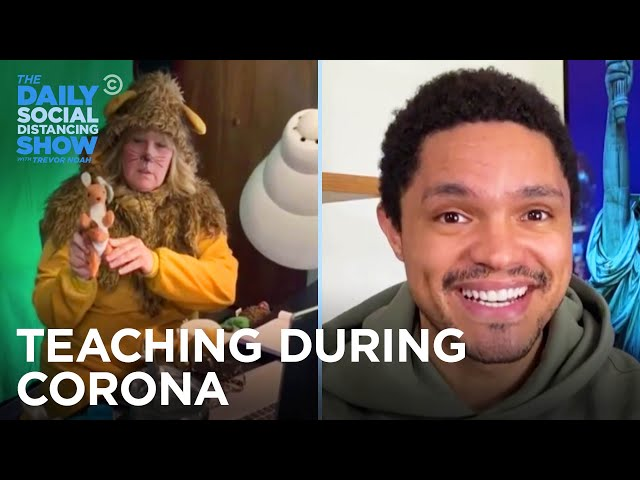How Are Teachers Handling Remote Learning? | The Daily Social Distancing Show