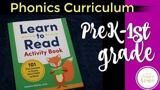 Скачать LEARN TO READ ACTIVITY BOOK PreK And Kindergarten Phonics Curriculum Review