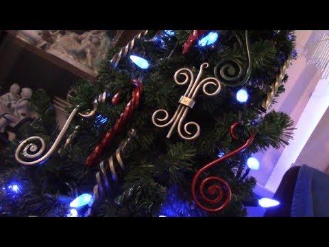 Blacksmithing - Forging various Christmas ornaments
