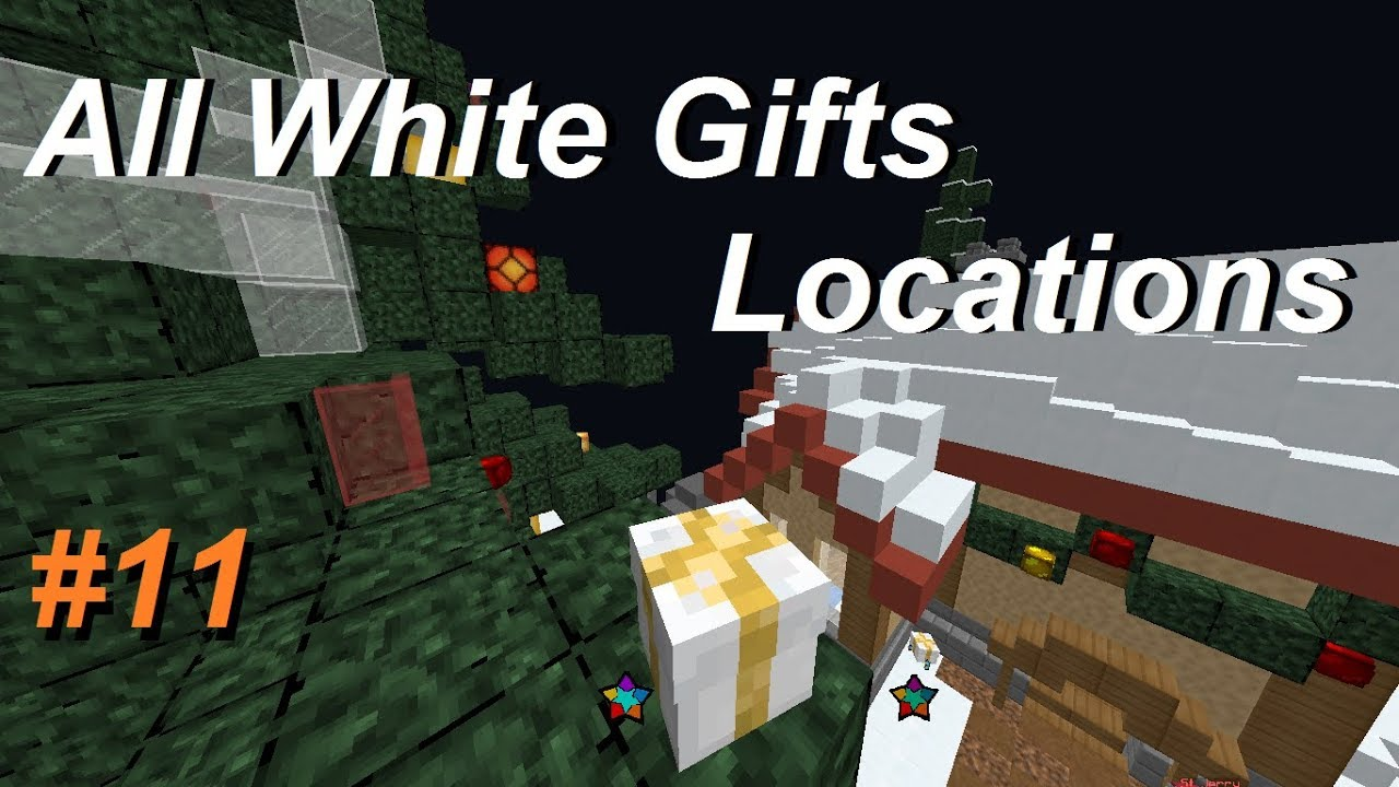 Youtube All Hypixel Christmas Presents 2020 ALL WHITE GIFTS #11 | Hypixel Skyblock !   YouTube