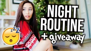 Winter Night Routine! + HUGE $5000 HOLIDAY GIVEAWAY! | MyLifeAsEva