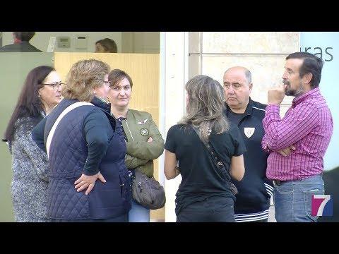 Taxistas de Santurtzi defienden a su compañero en prisión acusado de un delito de agresión.