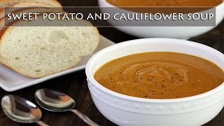 Happivore - Sweet Potato & Cauliflower Soup