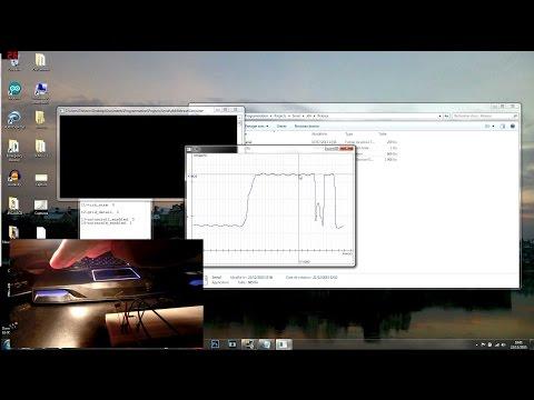 Arduino / Serial port data plotting (C++ / SFML)