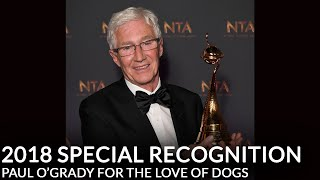 Paul O'Grady speaks to Roman Kemp about his award for For The Love of Dogs