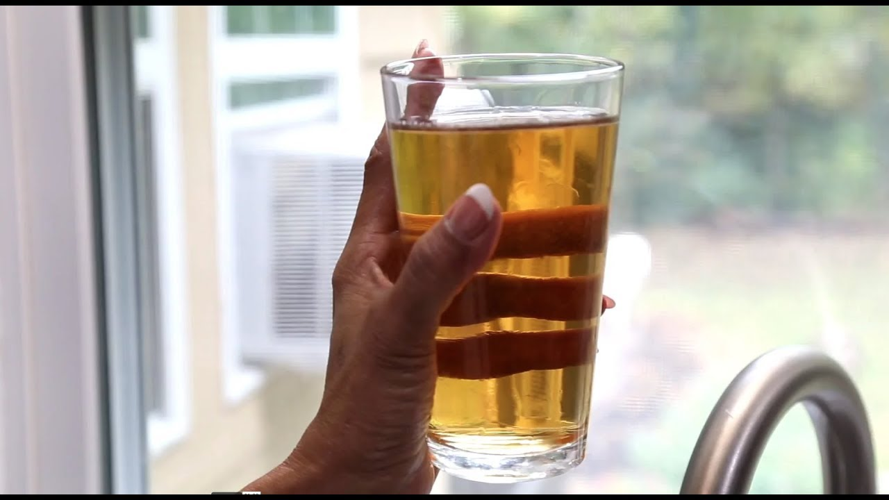 How to Fix Your Water - Yellow or Brown Water (Tannin) - YouTube
