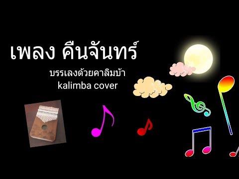 เพลง คืนจันทร์  kalimba cover