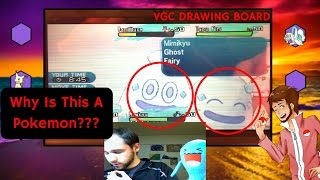 Pokemon Sun and Moon 2017 VGC Drawing Board - How Is Vanilluxe A Threat??