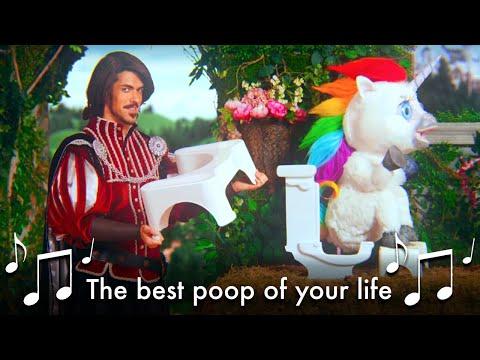♫ The Best Poop of Your Life, Best Poop of Your Life ♫ - #SquattyPotty