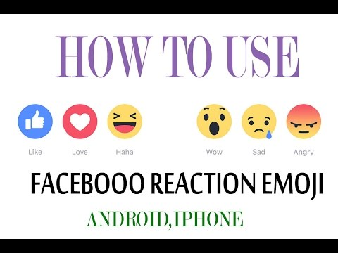 How To Use Facebook Reaction Emoji Android And Iphone