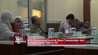 MTA PERPANJANG KONTRAK SEWA TRANSPONDER DAN KONEKSI TELKOM 3S