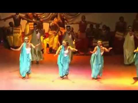 inyamibwa cultural troupe performing in Miss campus 2012 of the National University of Rwanda.flv poster