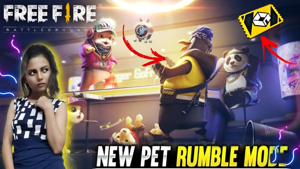 Full Masti In Free Fire Pet Rumble Mode 😂 - Garena Free Fire
