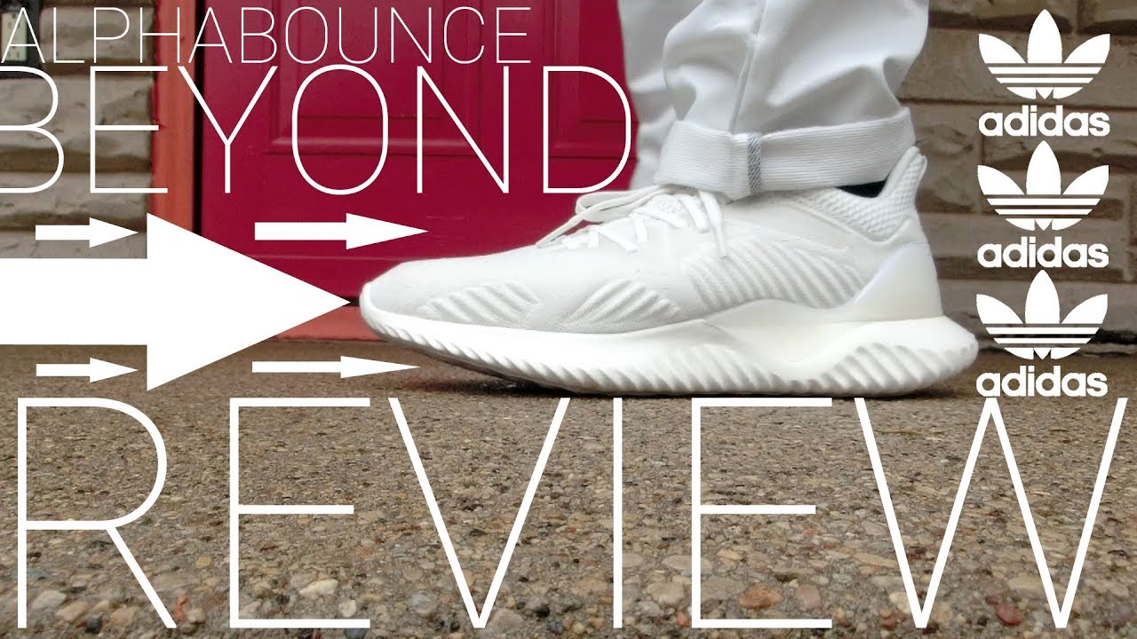 69c2b72df adidas Alphabounce Beyond Shoe Review - Off White - YES ITS TRUE TO SIZE!