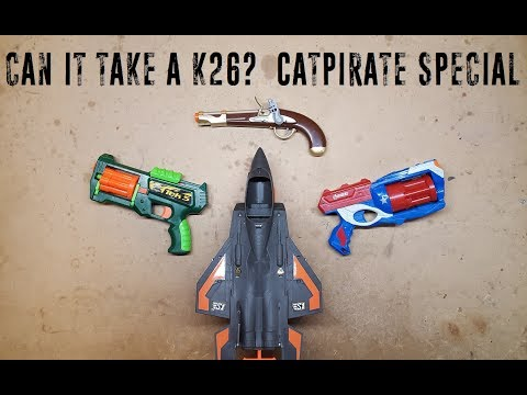 Can it Take a K26? - CatPirate Special