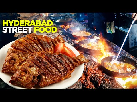 Hyderabad Food Tour with Realme | Fish Point at Hala Naka | Resham Gali | Pakistani Street Food