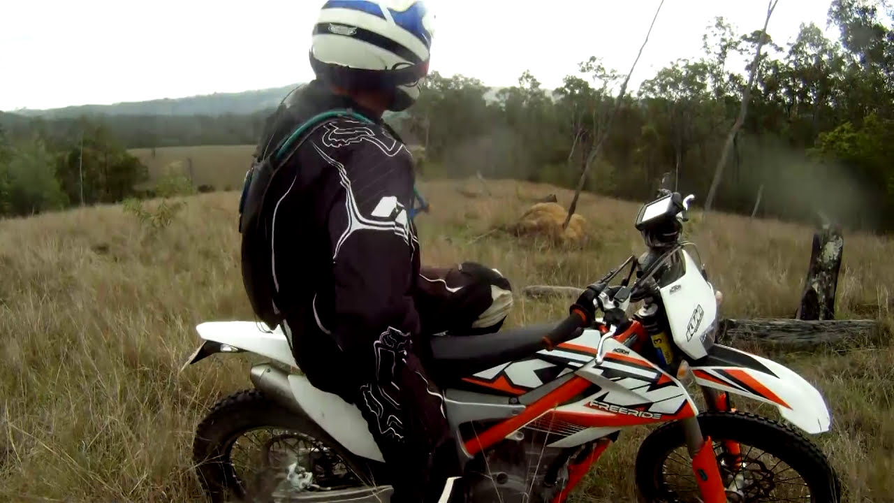ktm freeride 350 test ride & review - youtube