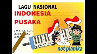 not angka INDONESIA PUSAKA