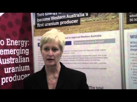 Toro Energy Limited's Vanessa Guthrie on Western Australia's First Uranium Producing Mine (ASX:TOE)