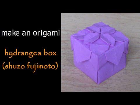 @ Make an Origami Hydrangea Box (Lid) (Shuzo Fujimoto)