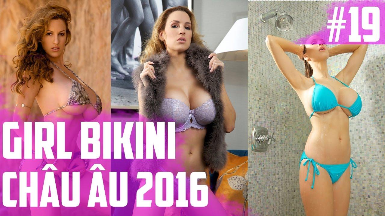 Hình Ảnh Gái Đẹp   Gái Bikini Châu Âu 2016   Part 19