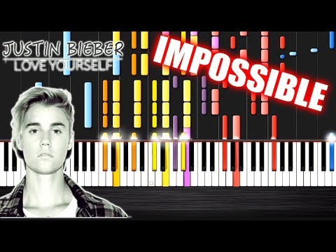 Justin Bieber - Love Yourself - IMPOSSIBLE PIANO by PlutaX