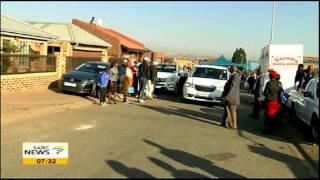 Mandoza39s coffin leaves his home