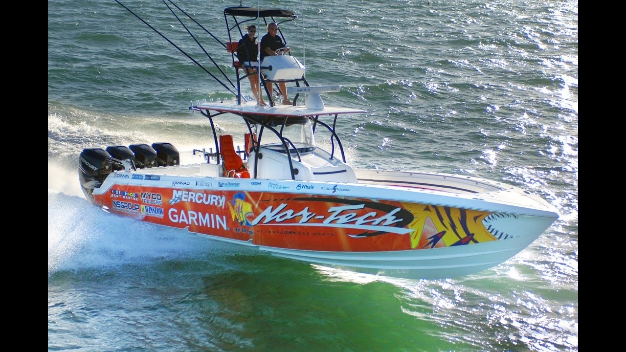 Nor tech 392 super fish the ultimate offshore fishing for Offshore fishing boats