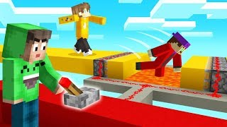 MINECRAFT PARKOUR But It's FILLED With TROLLS! (Impossible)
