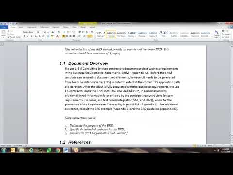 Class 6: Business Requirements Document (BRD)