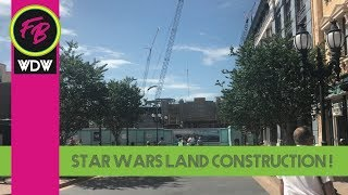 Star Wars Land Construction at DHS, Grand Avenue, and Toy Story Land Constr. | 10/29/17 pt.2
