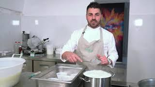 PriMa Food. Ricotta all'essenza di Santoreggia Bio. A cura del Maestro Casaro Vincenzo Troia
