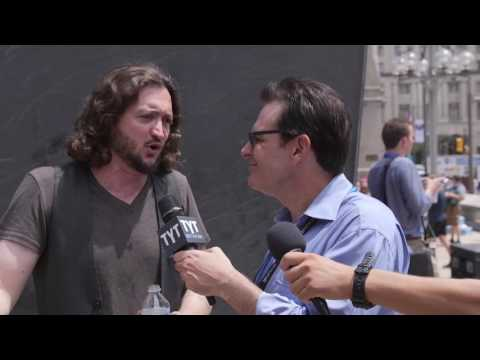 Lee Camp Interview At 2016 Democratic National Convention