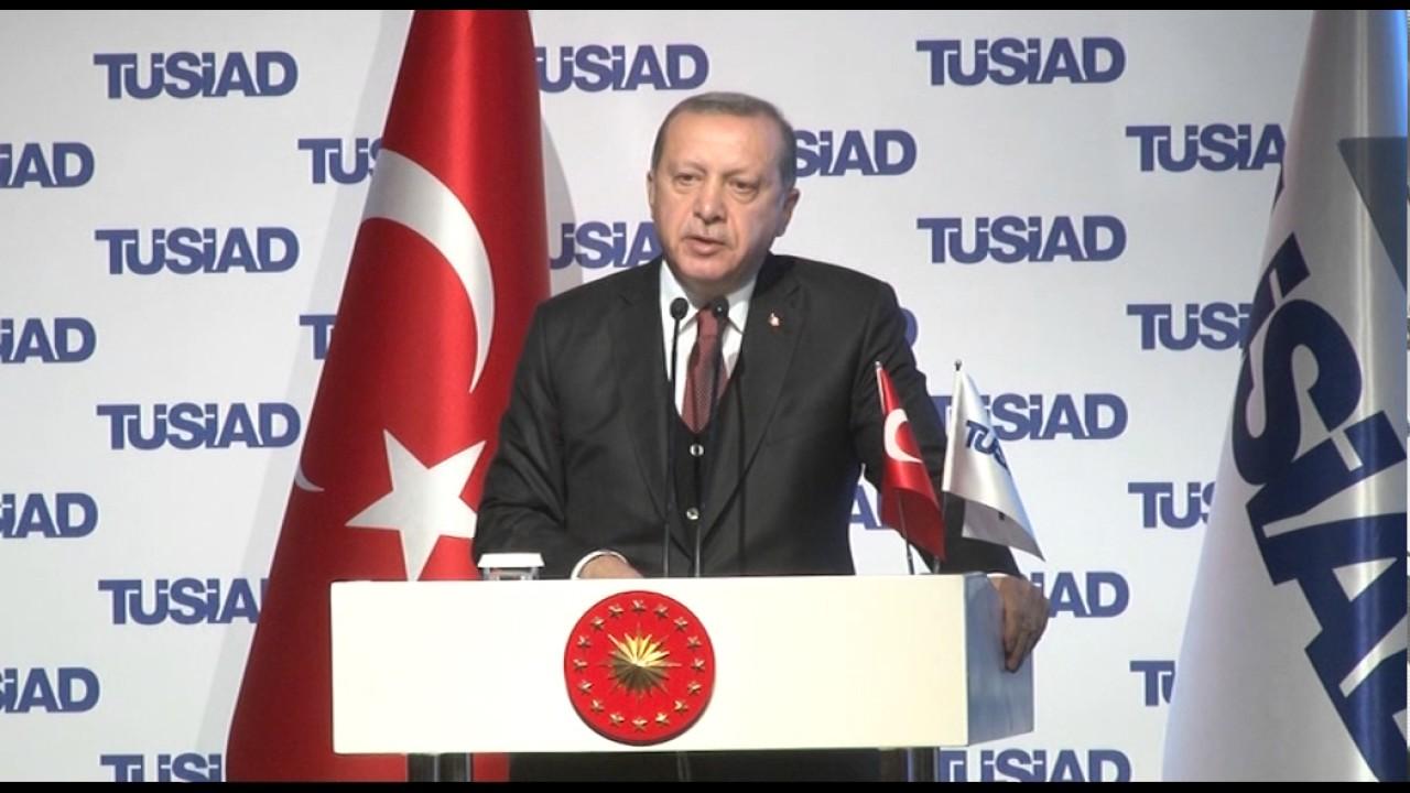 TÜSİAD YİK Toplantısı - Cumhurbaşkanı Recep Tayyip Erdoğan'ın Konuşması