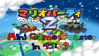 マリオパーティ 2 (TAS) Mini-Game Coaster in 45:29 by ReneBalow