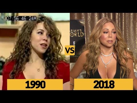 Mariah Carey Interview Comparison and Evolution From Age 18 to 49