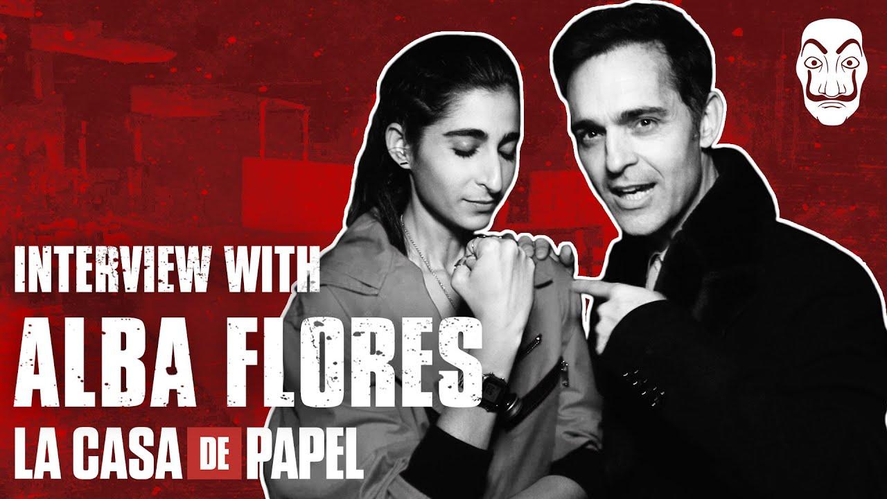 La Casa de Papel | Entrevista con Alba Flores | Netflix