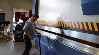 ECCO/ACL Hydraulic Press Brake demonstration