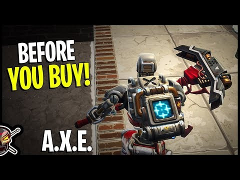 A.X.E. Pickaxe | Disappointed - Fortnite Item Shop 11-19-18