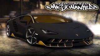 NFS Most Wanted | Lamborghini Centenario Mod Gameplay [1440p60]