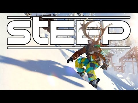 Steep Beta - Snowboarding and Skiing Tricks and Stunts! - Let's Play Steep Gameplay