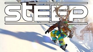Steep Beta - Snowboarding and Skiing Tricks and Stunts! - Let