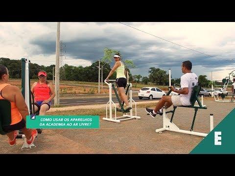 Como Usar Os Aparelhos Da Academia Ao Ar Livre Para Se Exercitar