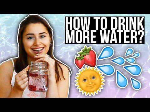 HOW-TO: Meer water drinken! How to drink more water ☆ SAAR