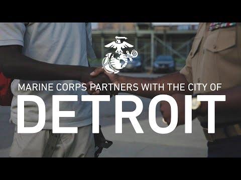 United States Marine Corps and City Partnerships: Detroit